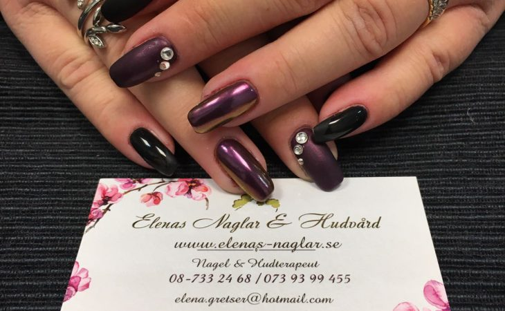 Naturliga naglar med Shellac Image